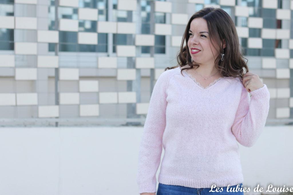 Tricoter le pull secret d'Atelier Emilie