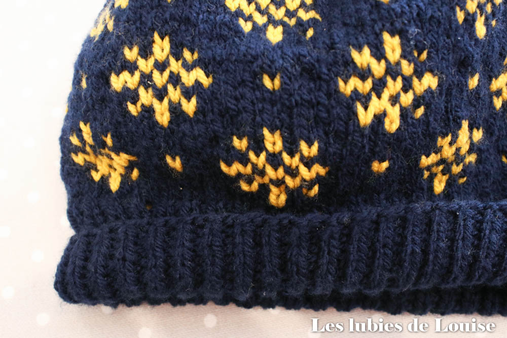 Côtes 1/1 du bonnet Winter Storm Hat