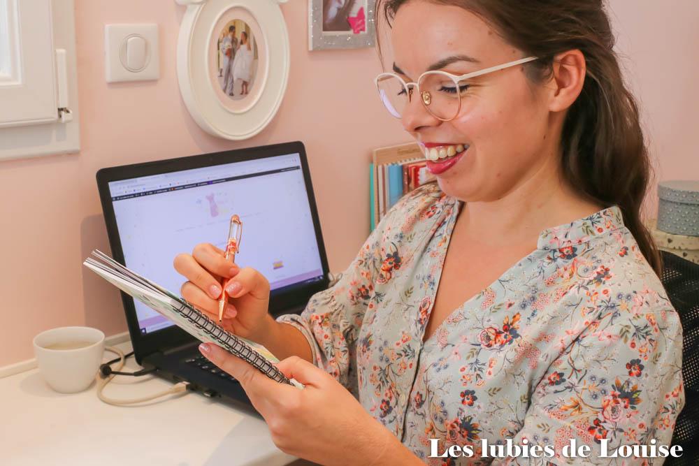 Travail de blogueuse