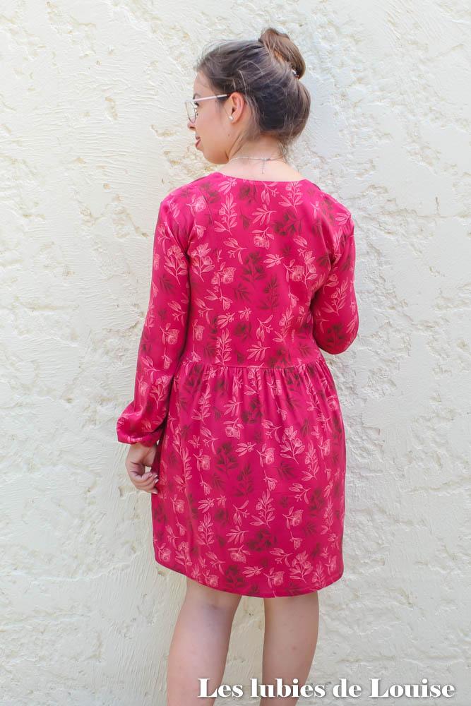 Dos de la robe Ariane de Coralie Bijasson