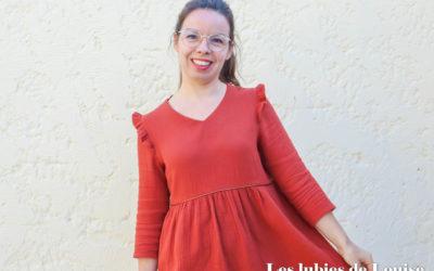Coudre la robe Mouna Sew box de septembre 2020