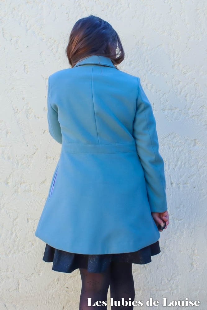Dos du manteau Nuage Coralie Bijasson