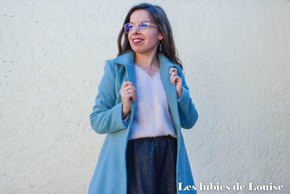Coudre le manteau Nuage de Coralie Bijasson