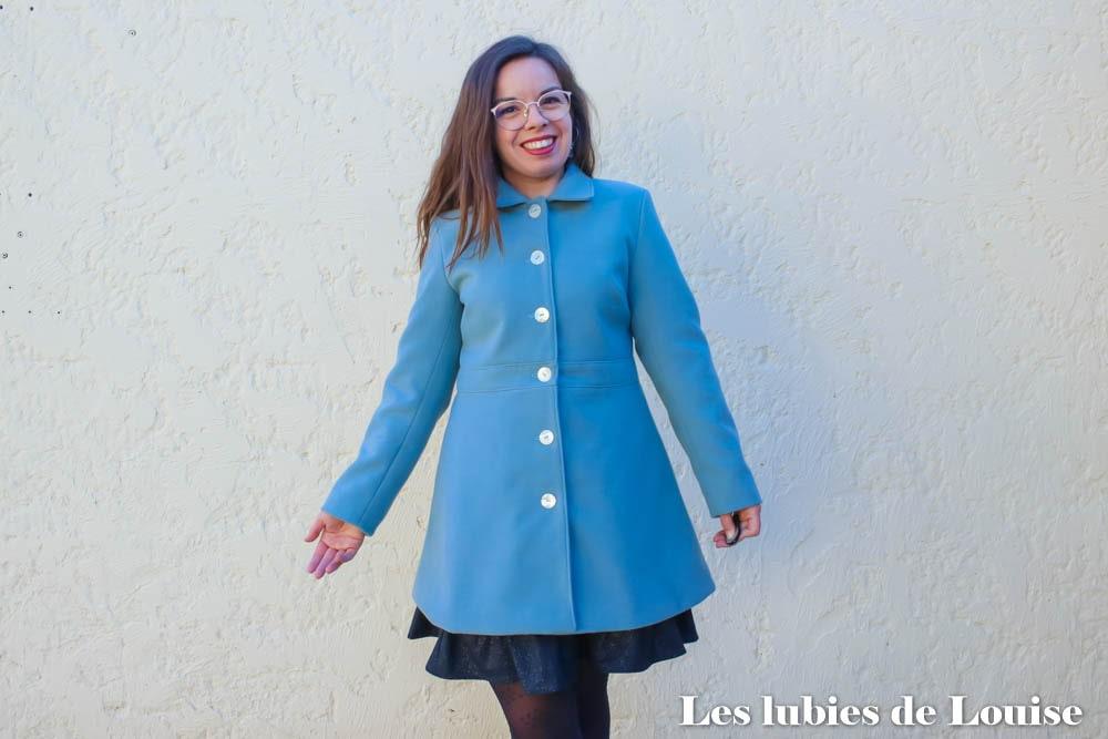 Coudre le manteau Nuage Coralie Bijasson