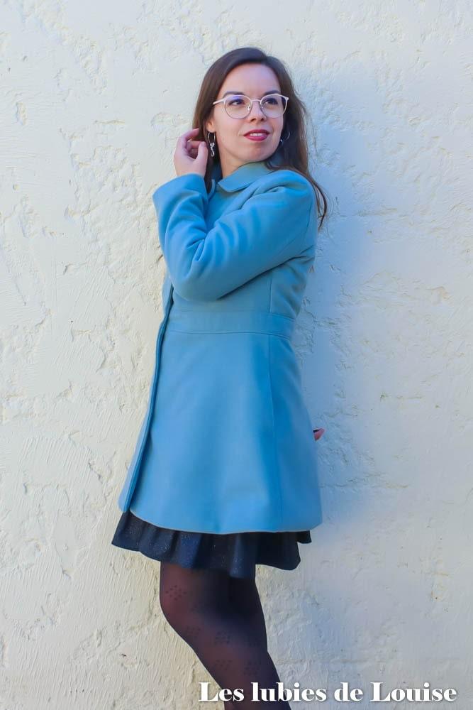 Coudre un manteau en laine