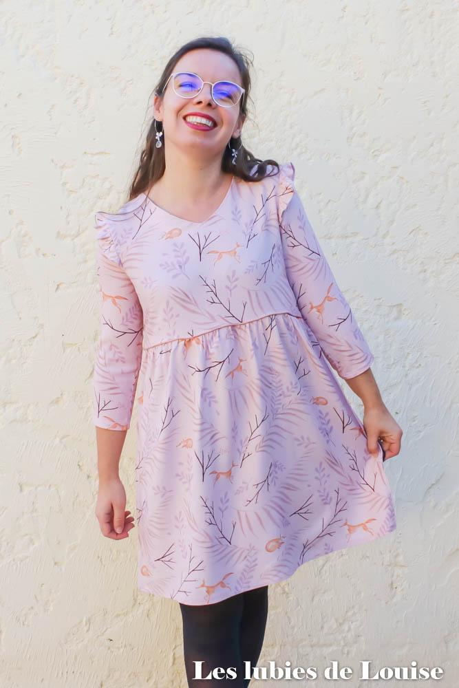 Robe MS Septembre 2020 Tissu Lise Tailor