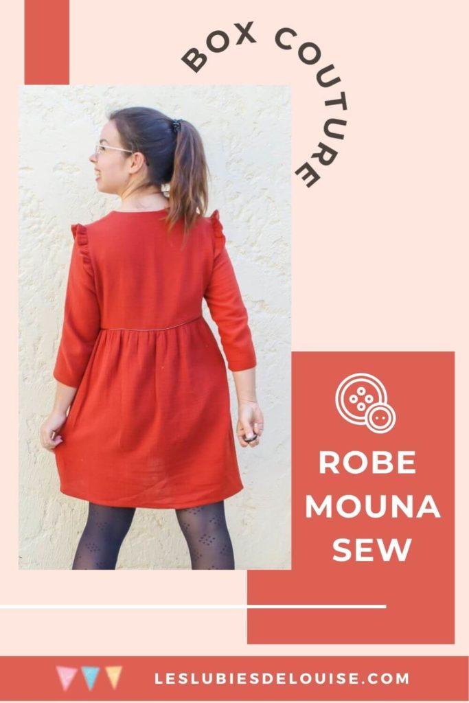 Mouna Sew Box septembre crêpe de viscose