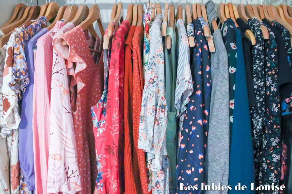 Ma garde robe cousue main et colorée
