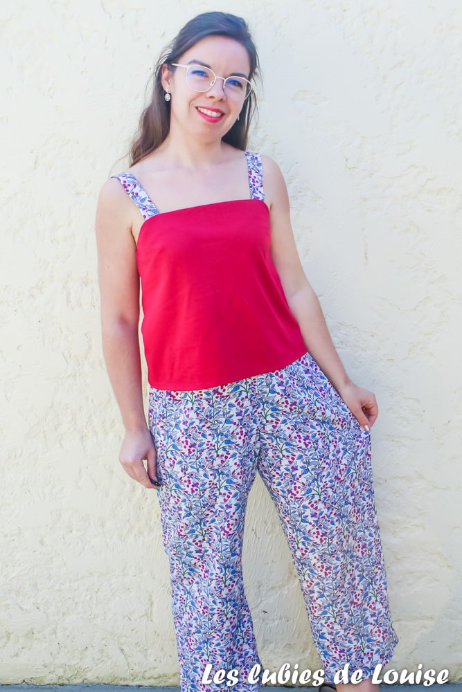 Pantalon pyjama large