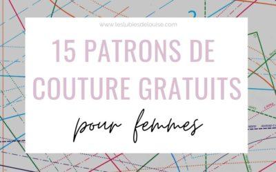 15 patrons de couture gratuits : modèles pour femmes