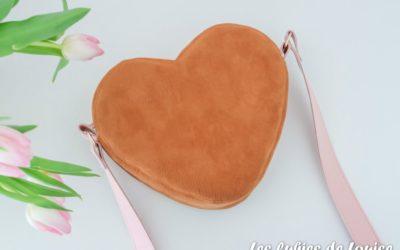Coudre un sac cœur Cupidon