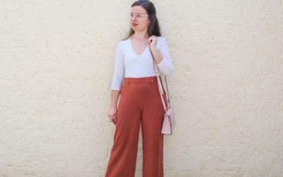Coudre le pantalon Karène – Mouna Sew box février 2021