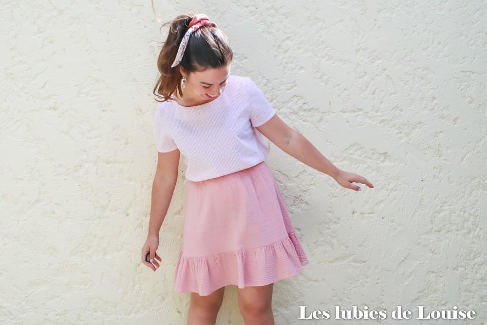 Coudre sa première tenue : blouse et jupe Equinoxe