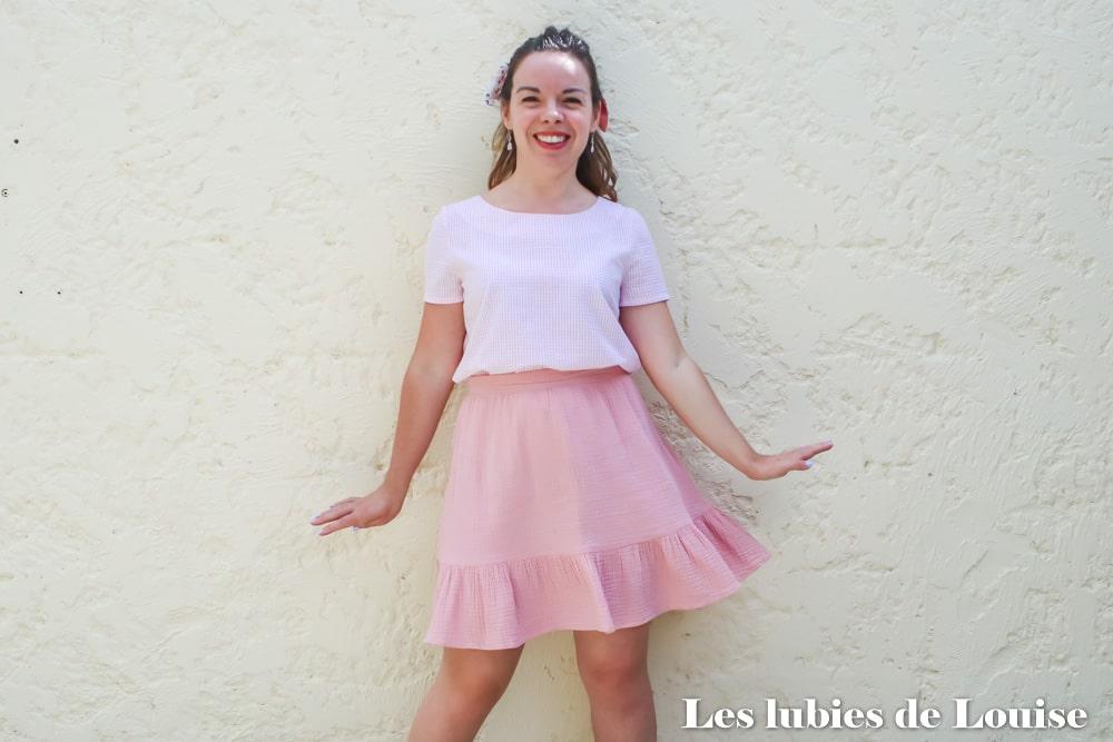 apprendre à coudre ses vêtements avec Louise