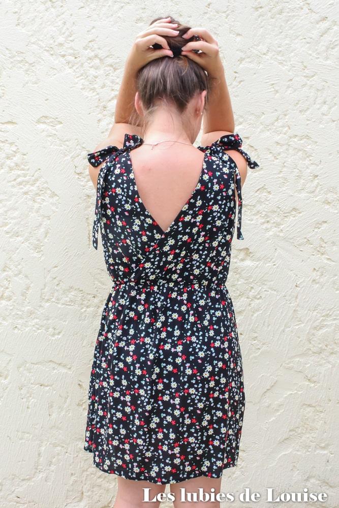 Le dos de ma robe Athena de Ma petite Frambise