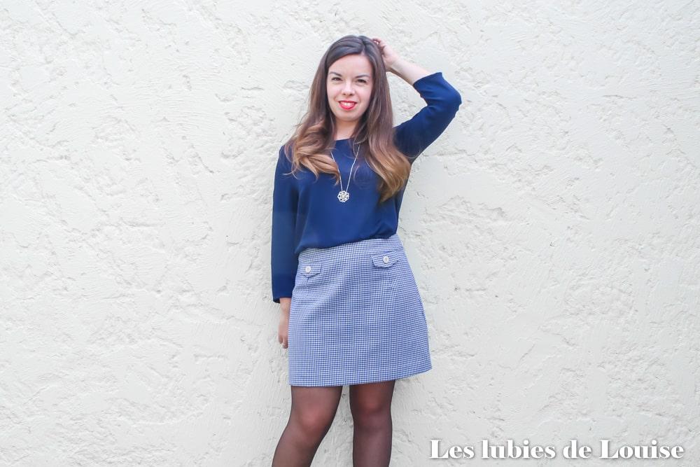 Coudre la mini jupe Hortense de Cha's Hands